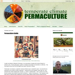 Temperate Climate Permaculture: Permaculture Guilds