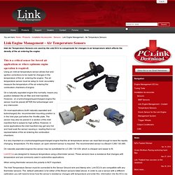 Link Engine Management - Air Temperature Sensors — Link Engine Management Systems - plug-in & wire-in aftermarket ECU's