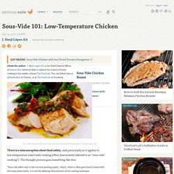 Sous-Vide 101: Low-Temperature Chicken