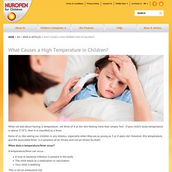 What Causes High Temperature in Children