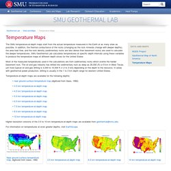 Temperature Maps - Dedman College