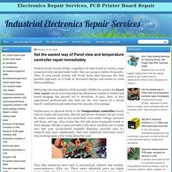 Panel View Repair Services