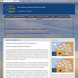 Info Meteo: L'inversion de températures et ses conséquences