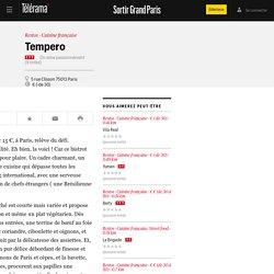 Tempero - Restos dans le Grand Paris