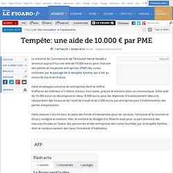 une aide de 10.000 € par PME
