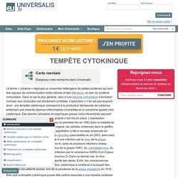 TEMPÊTE CYTOKINIQUE