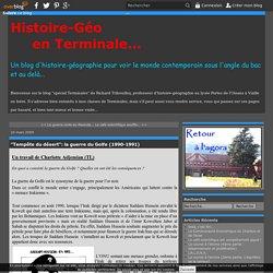 """""""Tempête du désert"""": la guerre du Golfe (1990-1991)"""