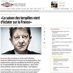 «La saison des tempêtes vient d'éclater sur la France»