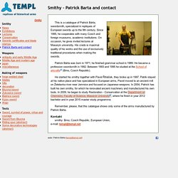 TEMPL: Smithy - Patrick Barta and contact