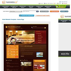 Website Templates For Hotel Reservation