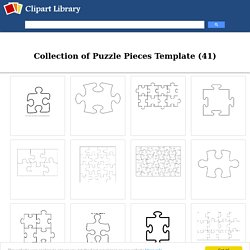Free Puzzle Pieces Template, Download Free Clip Art, Free Clip Art on Clipart Library