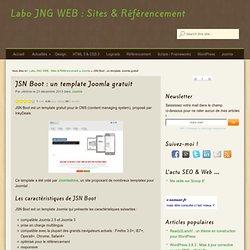 JSN Boot : un template Joomla gratuit