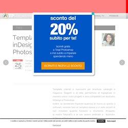 Template gratuiti per inDesign, Illustrator e Photoshop