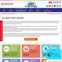 Contact OCDesignsOnline For Innovative eBay Shop Design