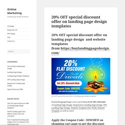 Landing page design templats to boost your business conversion, traffic and revenue