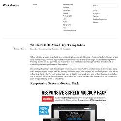 70 Best PSD Mock-Up Templates