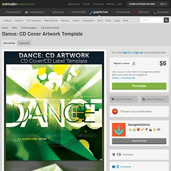 Dance: CD Cover Artwork Template