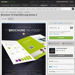 Brochure Tri-Fold Print-Series #4