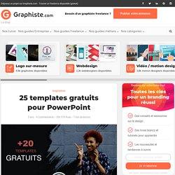 25 templates gratuits pour PowerPoint