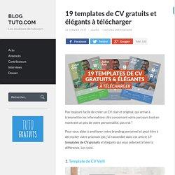 19 templates de CV gratuits et élégants à télécharger