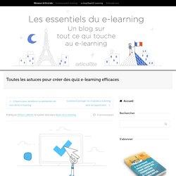 Astuces et templates pour créer des quiz e-learning efficaces