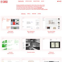 Templates - Put your projects on the Web.