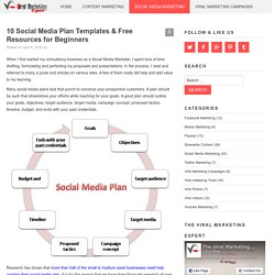 10 Social Media Plan Templates & Free Resources for Beginners