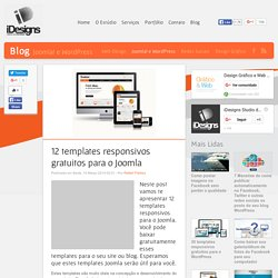 12 templates responsivos gratuitos para o Joomla - iDesigns Studio