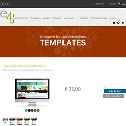 Templates : Template Holiday Apartments