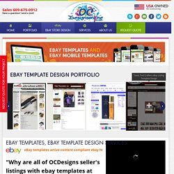 Custom eBay Listing Template Design By OCDesignsOnline