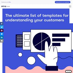 5 Templates for Better Understanding Your Customers