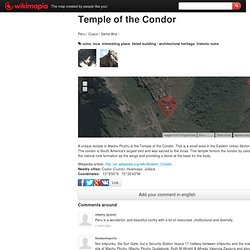Temple of the Condor