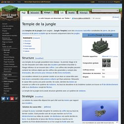 Temple de la jungle — Minecraft Wiki