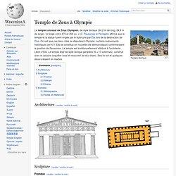 Temple de Zeus à Olympie