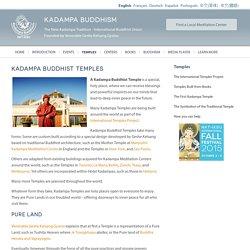 Temples - Kadampa Buddhism