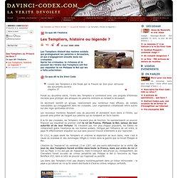 Les Templiers, histoire ou légende? - DaVinci-Codex.com - La vérité dévoilée