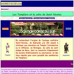 Les Templiers et le Culte de saint Nicolas en Bretagne