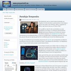 Paradojas Temporales by cdiaz
