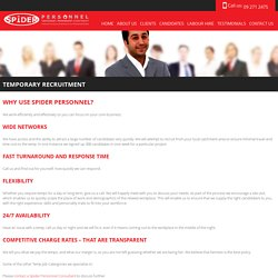 Temporary Recruitment Services Auckland
