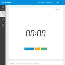 Temporizador Online - Reloj-Alarma.es
