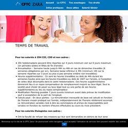 Temps de travail - CFTC-ZARA