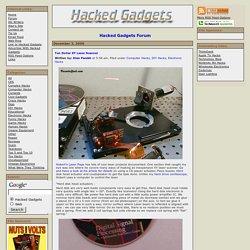 Ten Dollar XY Laser Scanner - Hacked Gadgets - DIY Tech Blog