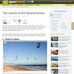 Ten Jewels of the Mediterranean