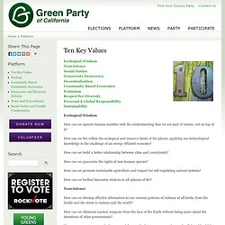 Green Party of CA