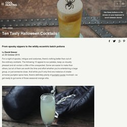 Ten Tasty Halloween Cocktails