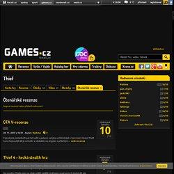 Čtenářské recenze hry Thief - Games.cz