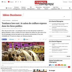 Etude march pearltrees - Salon de coiffure low cost ...