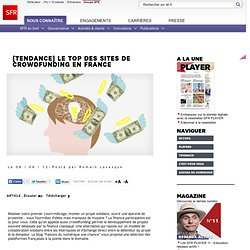 Le top des sites de crowdfunding en France