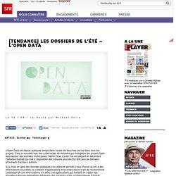 Les dossiers de l'été – l'Open data