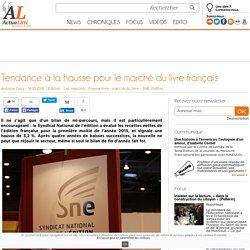 Tendance à la hausse pour le marché du livre français